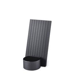 LEXON City Energy - draadloze oplader met bluetooth speaker - Titanium