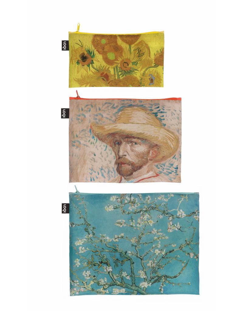 Loqi Zip Pockets Van Gogh - set 3 stuks