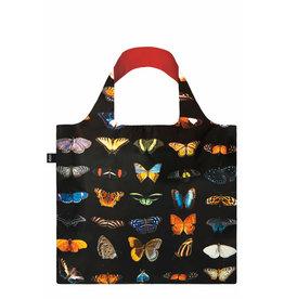 Loqi Opvouwbare tas - National Geographic - butterflies & moths