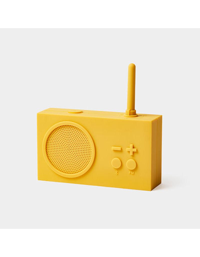 LEXON TYKHO 3 FM radio - 5W BT speaker - geel
