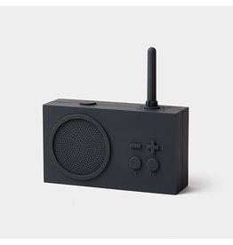 LEXON TYKHO 3 FM radio - 5W BT speaker - donkergrijs