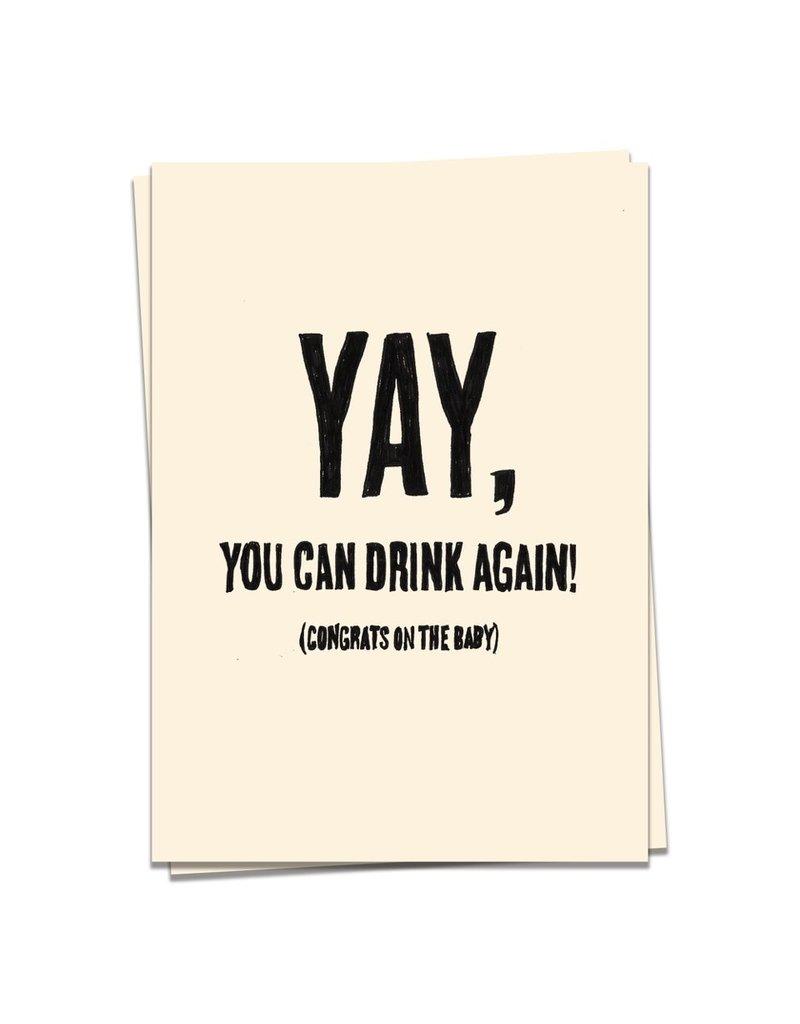 KaartBlanche Kaartje – Drink again