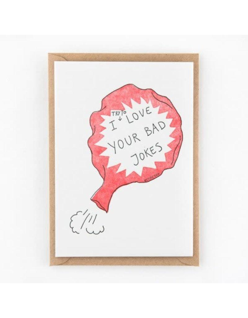 STUDIOFLASH Kaart 'Bad jokes...'