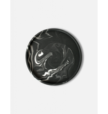HOUSE RACCOON Vassoio plate - Black marble - d. 29cm
