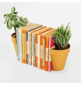 Suck UK Boekensteun- plantenpot