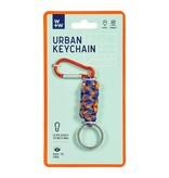Wild & Wolf Sleutelhanger - Urban - blue / orange