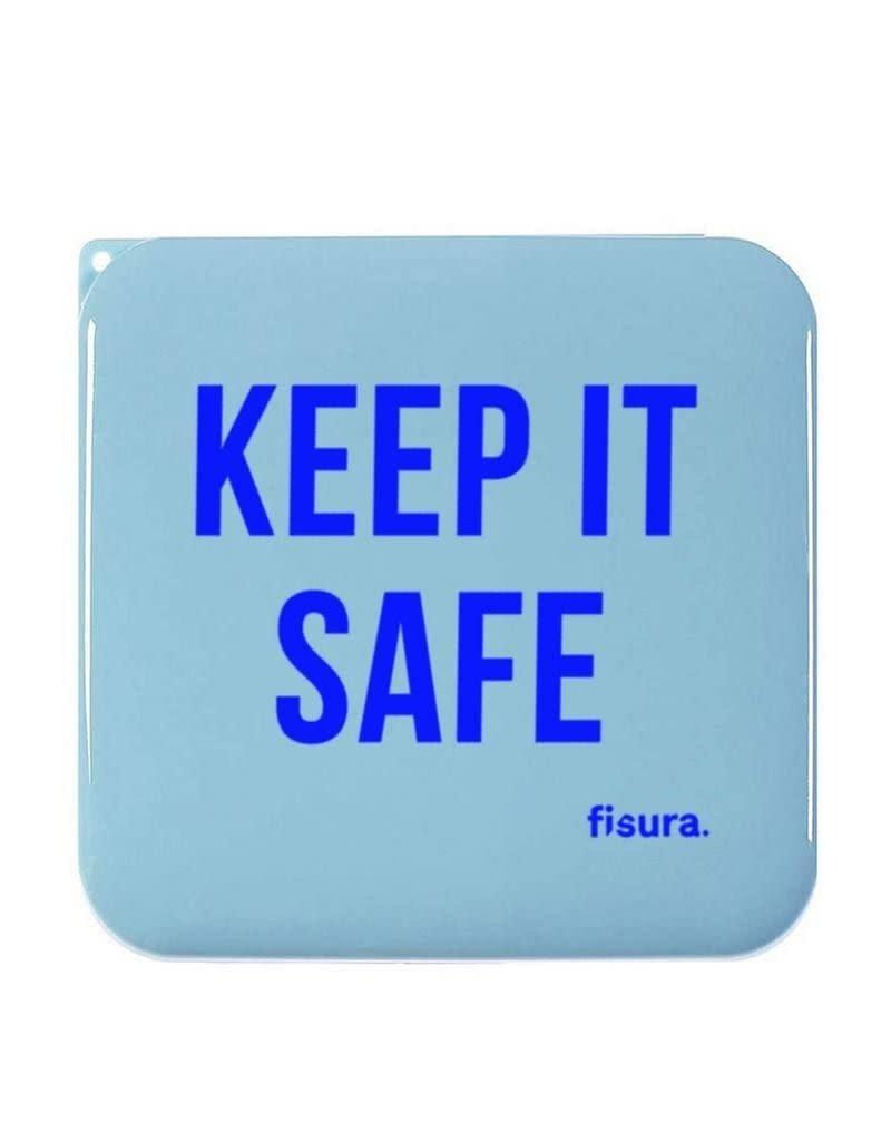 Fisura Tasje voor mondmasker- 'Keep it safe'