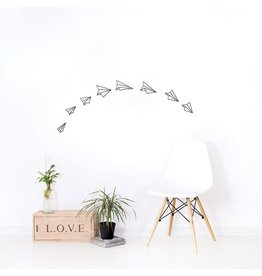 Chispum Wall sticker - paper planes
