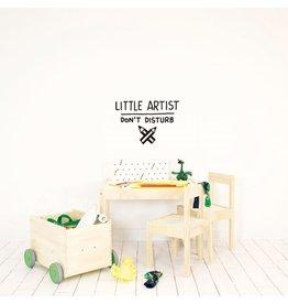 Chispum Wall sticker - little artist