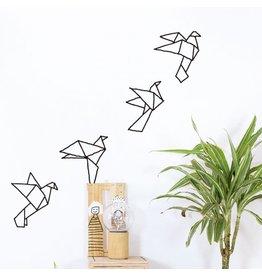 Chispum Wall sticker - paper birds