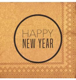 Räder Servetten 'Happy new year' - 25x25cm