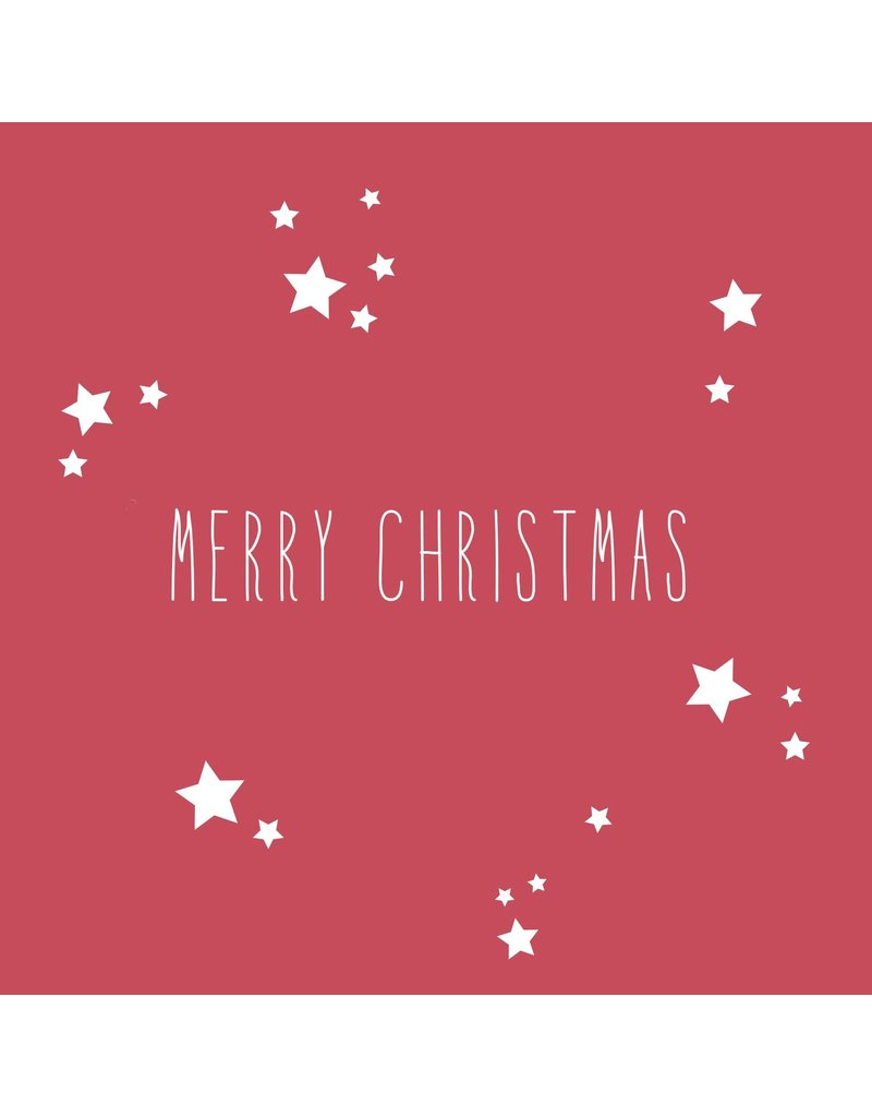 Räder Servetten Merry Christmas 33x33cm