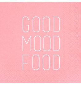 Räder Servetten 'Good mood food' - 33x33cm