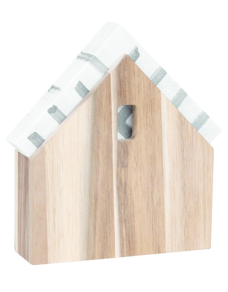 Räder 'Huisje' voor servetten small - 16x15,5x4cm