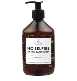 The Gift Label Handzeep - No selfies - 500 ml