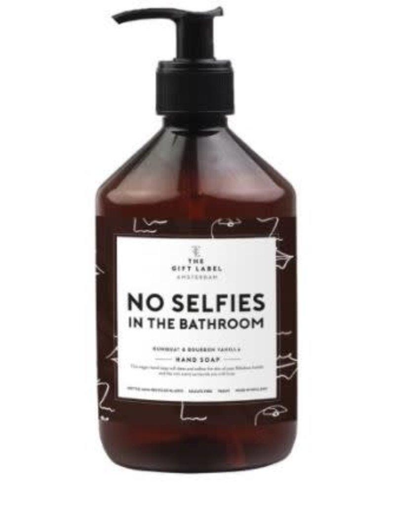 The Gift Label Handzeep - No selfies - 500 ml