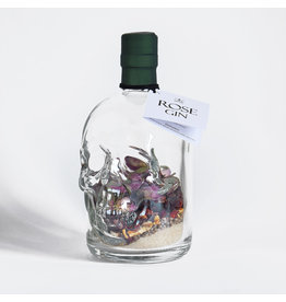 Dutch Creations Rose Gin Skull