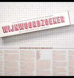 Stratier XL-woordzoeker poster 'Wijntermen'
