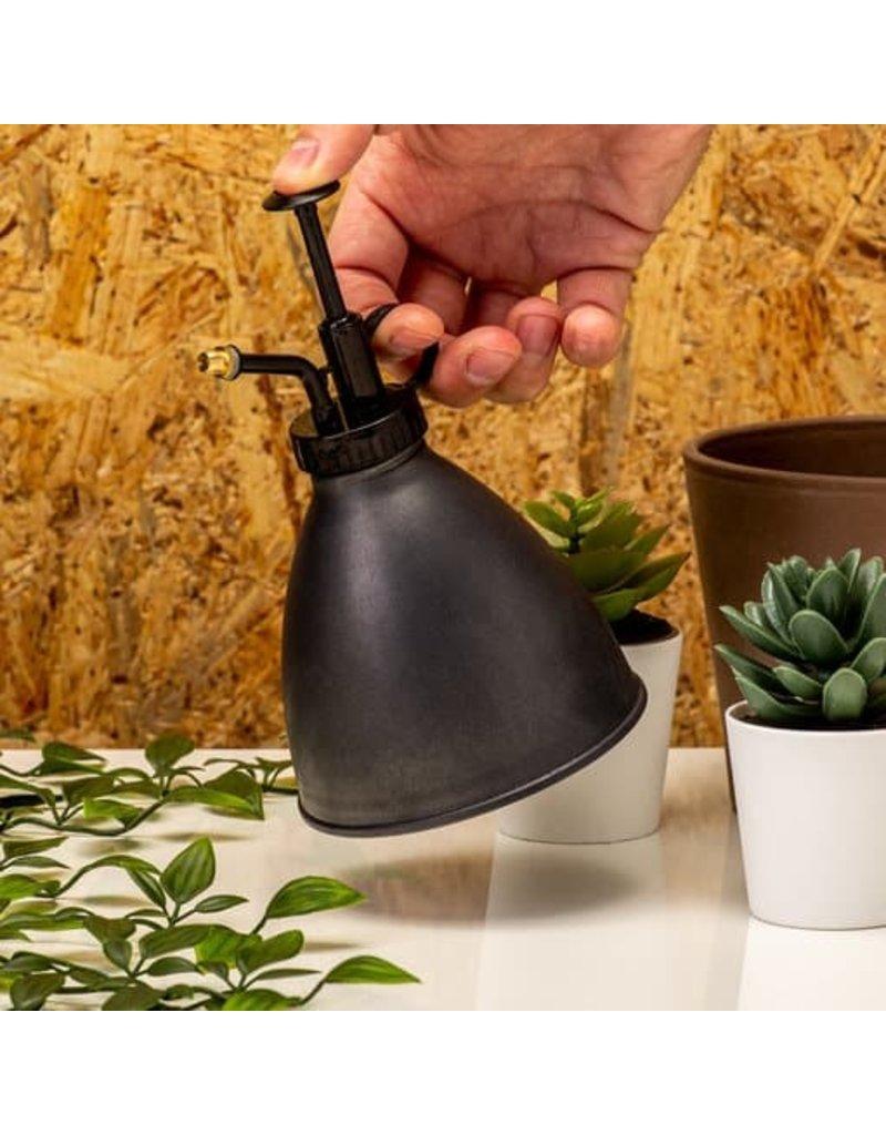 kikkerland Zwarte industriële plantenvernevelaar