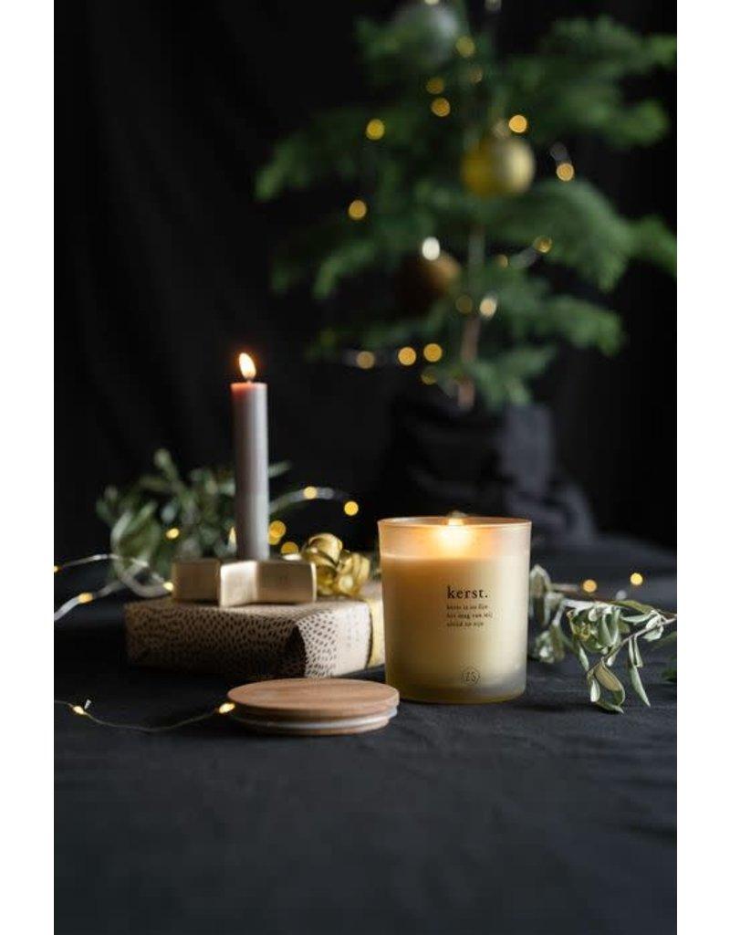 Zusss Geurkaars in glas 'Kerst is zo fijn'