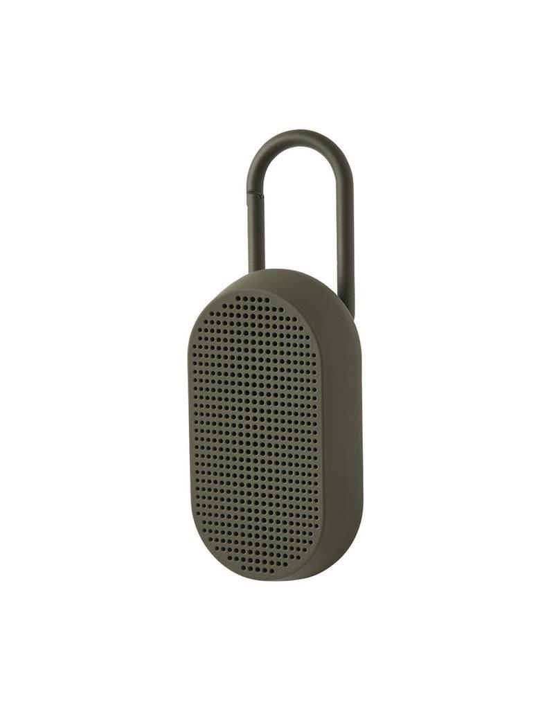 LEXON MINO T outdoor speaker -rechargeable - khaki