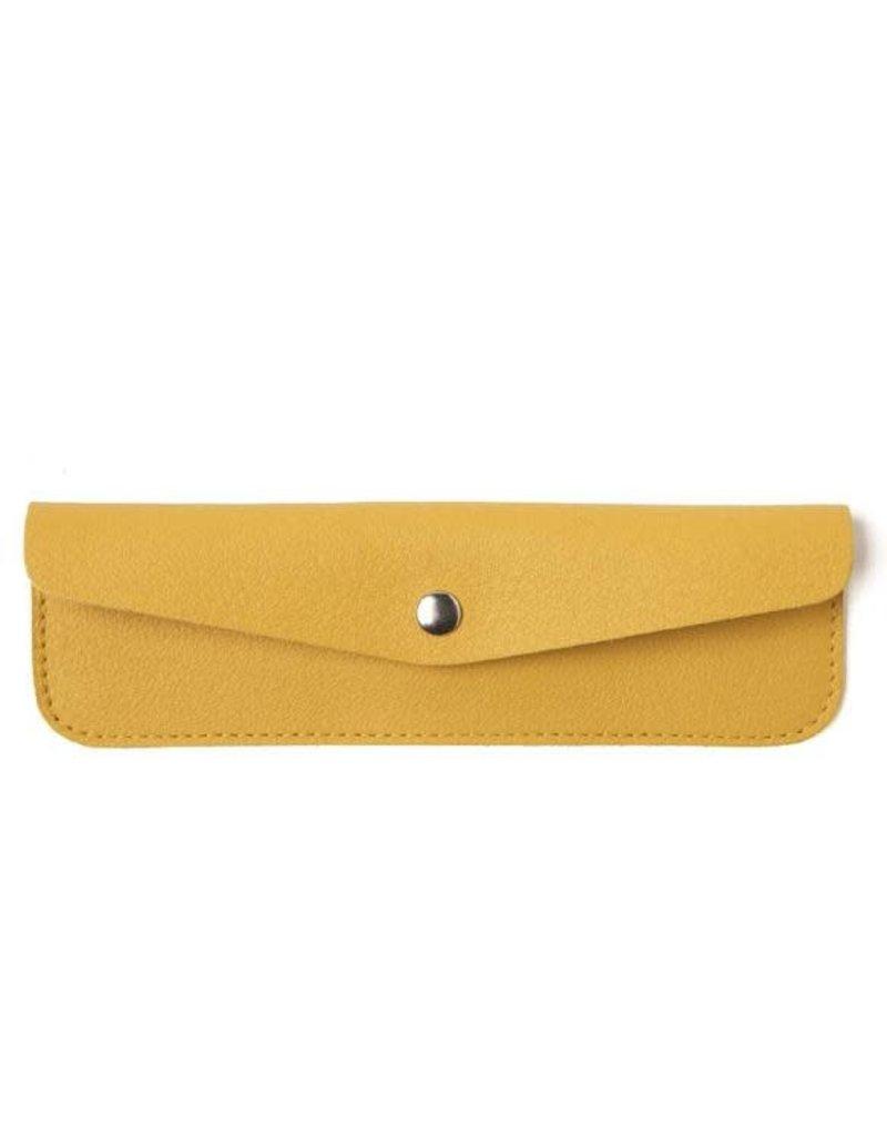 KEECIE Pen pal - Pennenetui - yellow