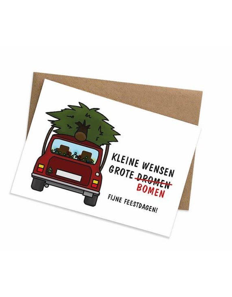 Graag Design Kaartje Graag-design - Kleine wensen, grote bomen