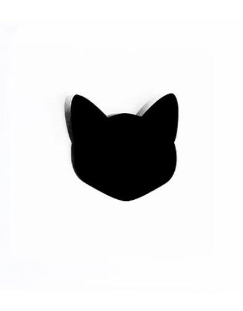 Les Petits Bisous Broche - black cat