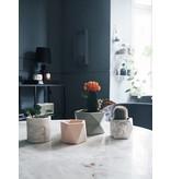HOUSE RACCOON Palua Plantenpot – Medium – Olive green