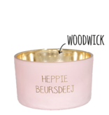 My Flame Lifestyle Geurkaars - 'Heppie beursdeej'