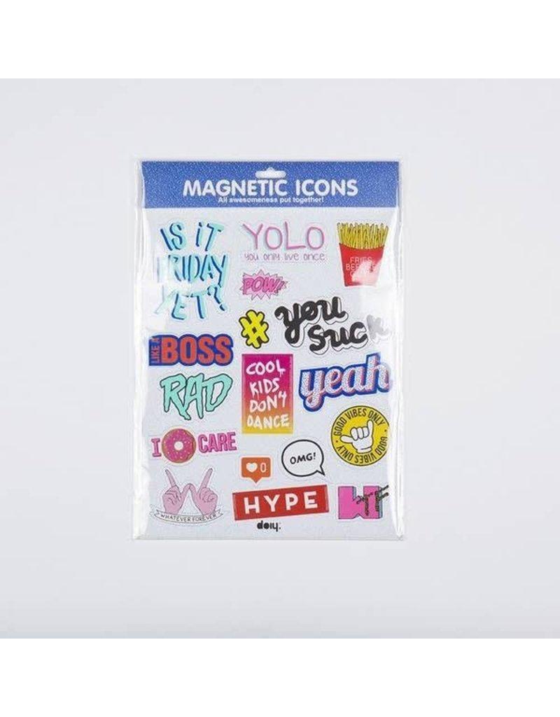 DOIY Magnetic icons