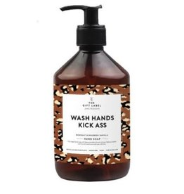 The Gift Label Hand soap - Wash hands kick ass 20/21 - 500 ml