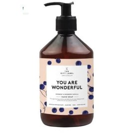 The Gift Label Hand soap - You are wonderful 20/21 - 500 ml