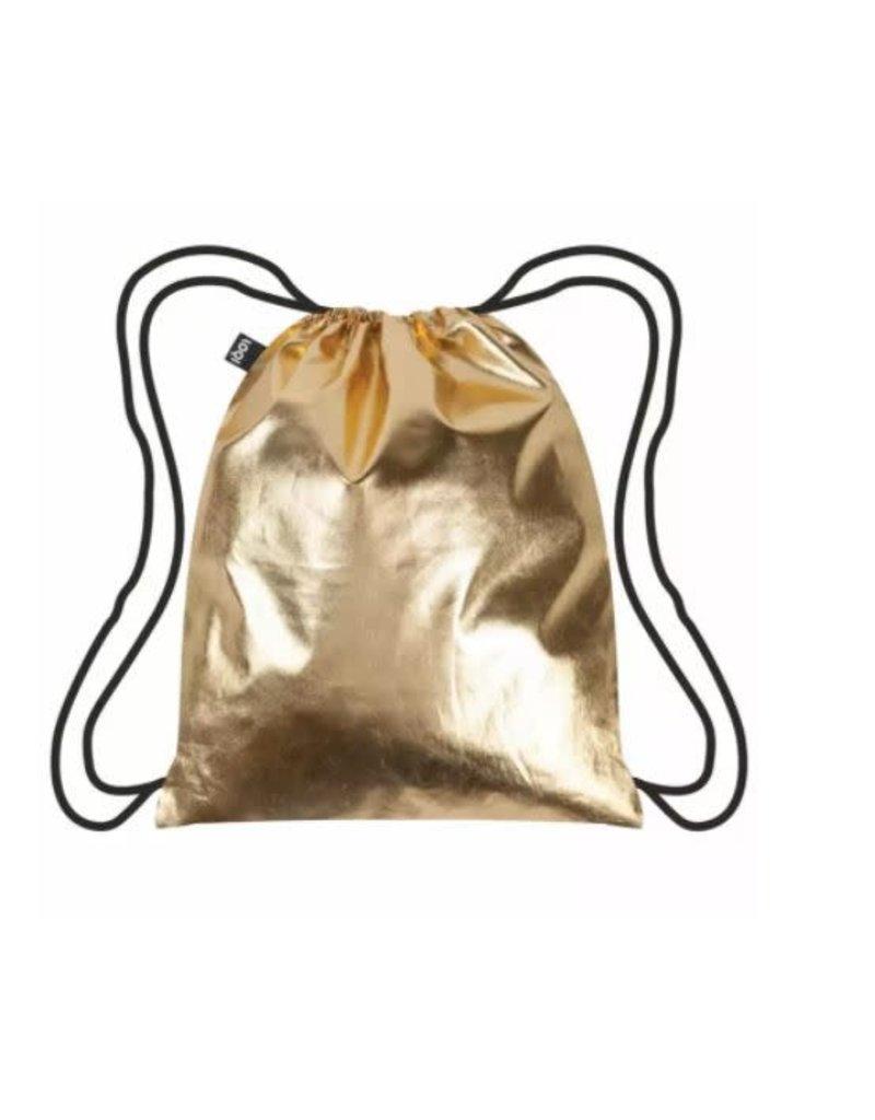 Loqi Backpack Gold/black