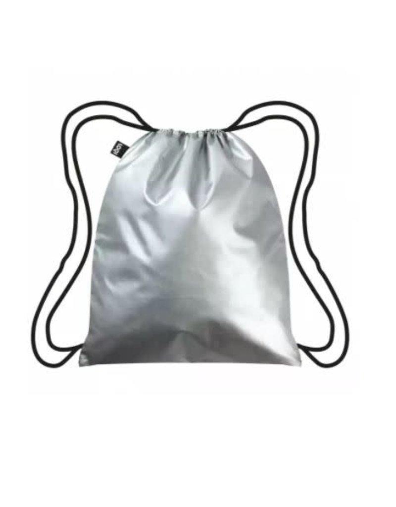 Loqi Backpack Silver/black
