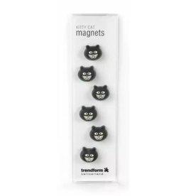 abodee Magneten 'Kitty cat'  - 6 stuks
