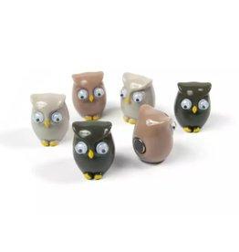 abodee Magneten 'Owl'  - 6 stuks