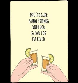 KaartBlanche Kaartje – Liver friends