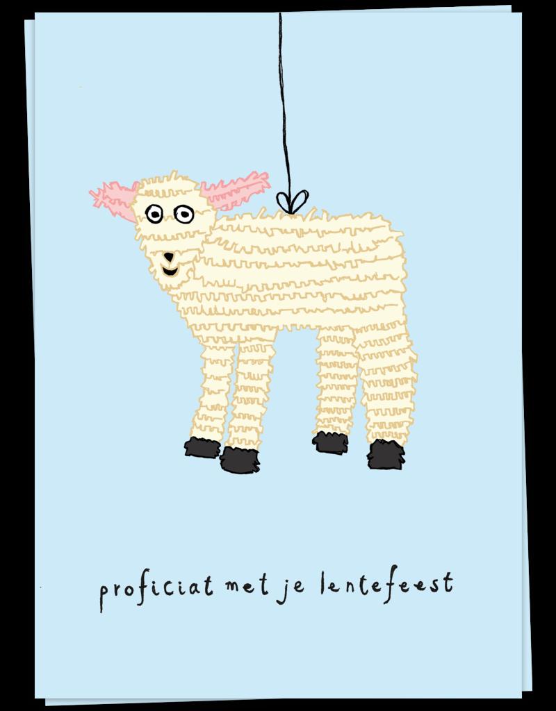KaartBlanche Kaartje – Lammetje  - Lentefeest