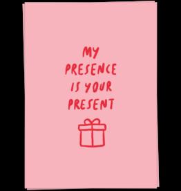 KaartBlanche Kaartje – My presence