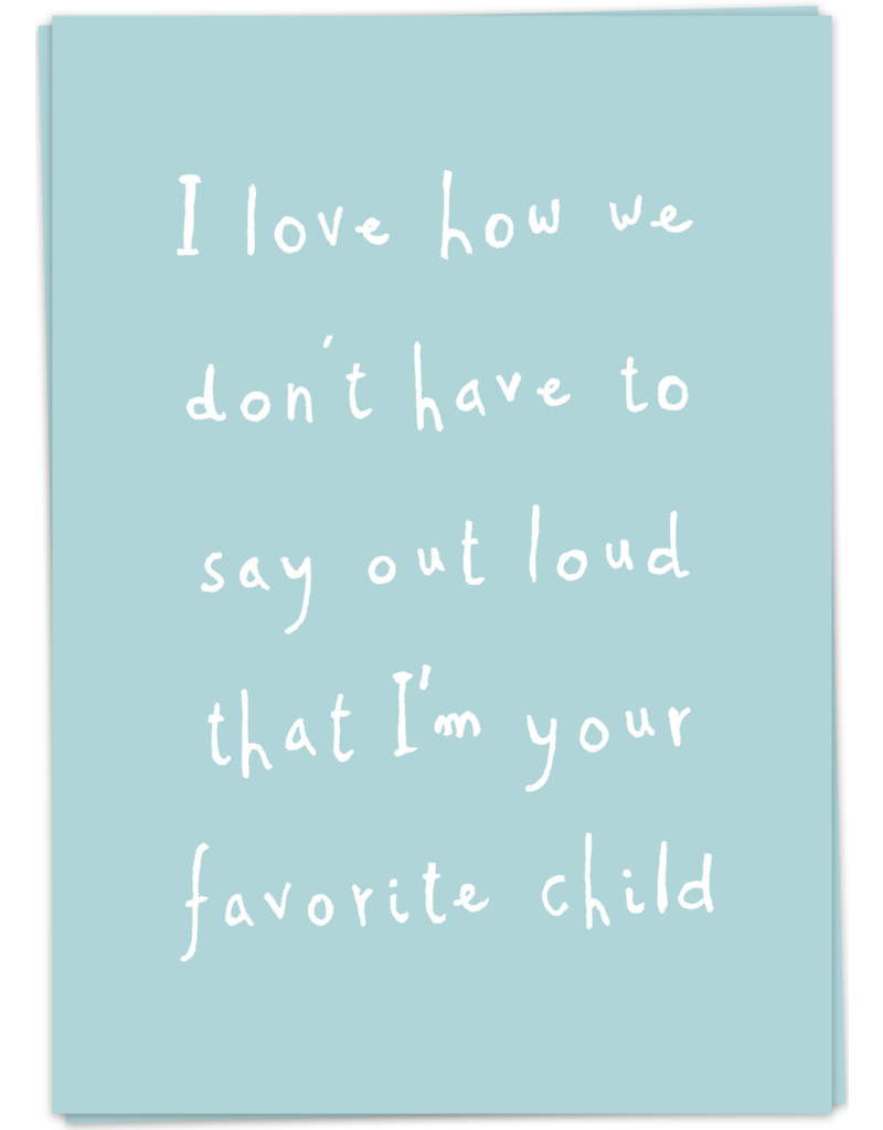 KaartBlanche Kaartje – Fave child
