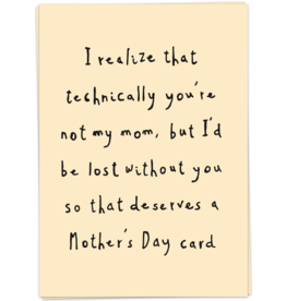 KaartBlanche Kaartje –Technically mom
