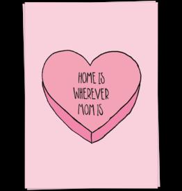 KaartBlanche Kaartje –Mom home