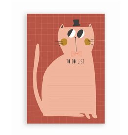 Studioloco To do - notepad 'Cat' - A5 - 50 blz