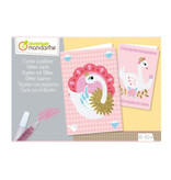 Avenue Mandarine Creative box, glitter cards 6-10j