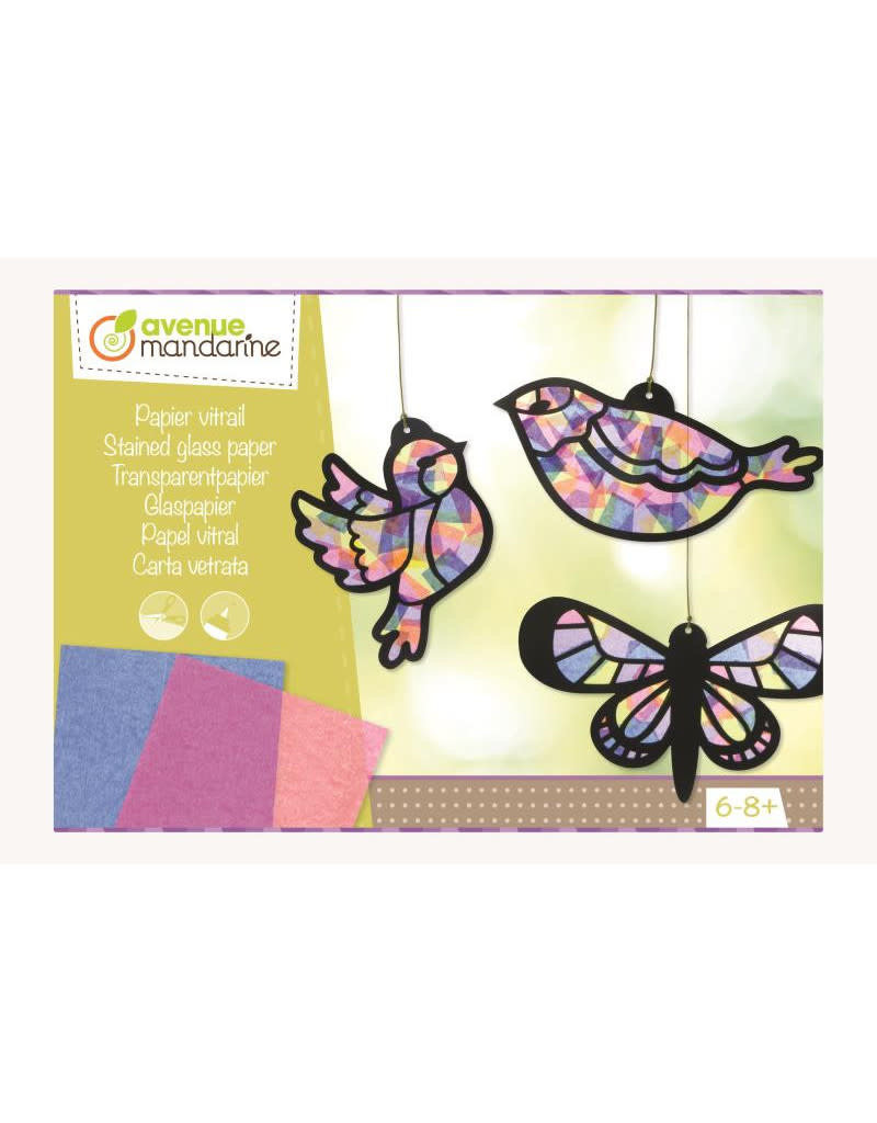 Avenue Mandarine Creative box, transparant papier 6-8j