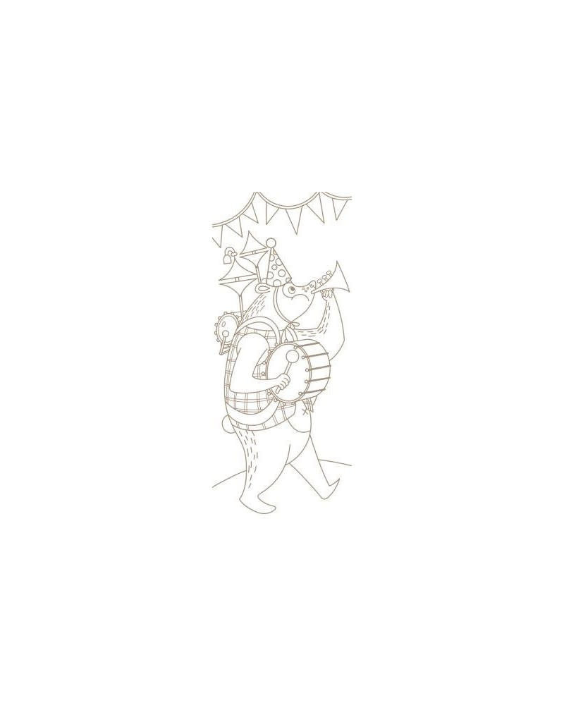 Avenue Mandarine Graffy bladwijzer - gekke dieren