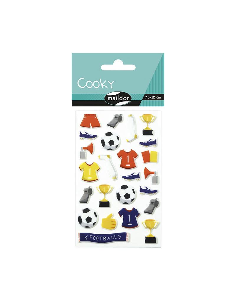 Maildor Stickervel - Voetbal