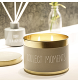 My Flame Lifestyle Geurkaars in blik - 'Collect moments'