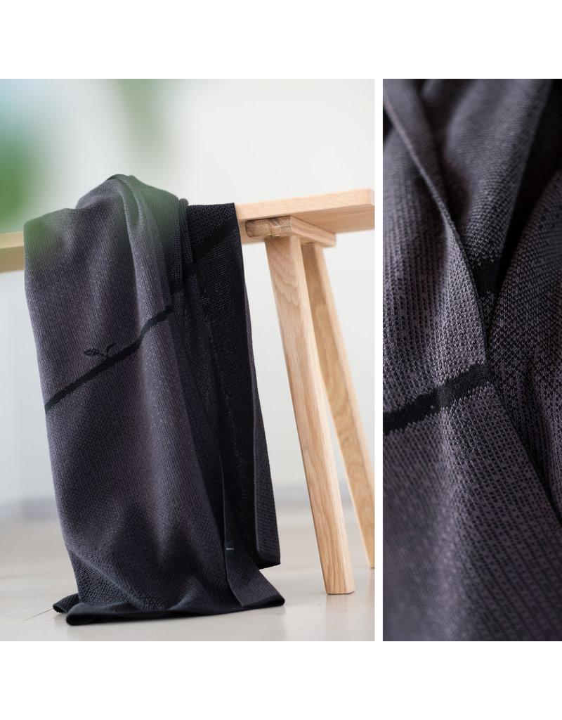 Moonoo Sjaal Moonoo - Growing basalt black